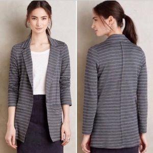 Dolan (Anthropologie) soft striped blazer